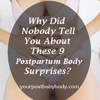 postpartum body surprises