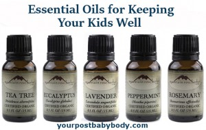 Using Essential Oils to Keep Kids Well