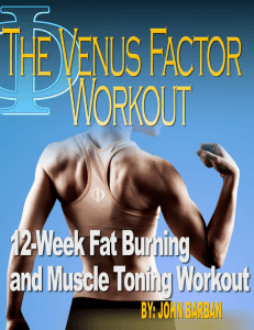 12 Week System - Venus Factor