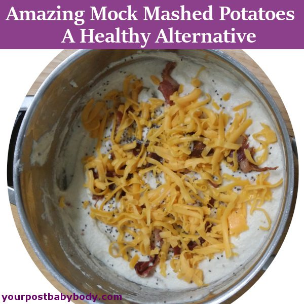 Mock Mashed Potatoes with Cauliflower