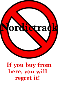 Don't buy from nordictrack